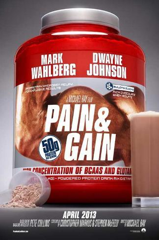 Pain and Gain Pôster