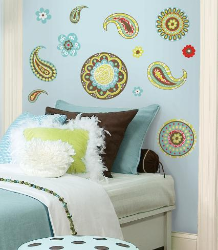 Paisley Peel & Stick Wall Decals Wall Decal