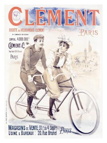 Clement Giclee Print