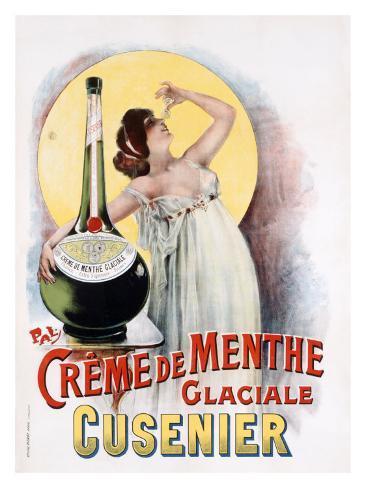 Creme de Menthe Giclee Print