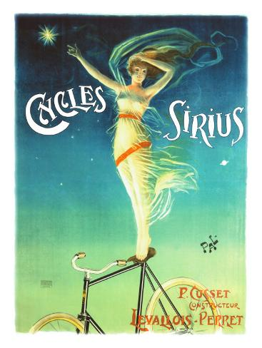 Cycles Sirius Giclee Print