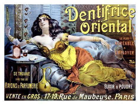 Dentifrice Oriental Giclee Print