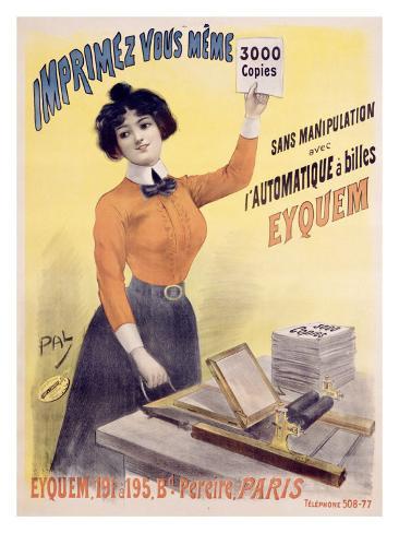 Eyquem Giclee Print