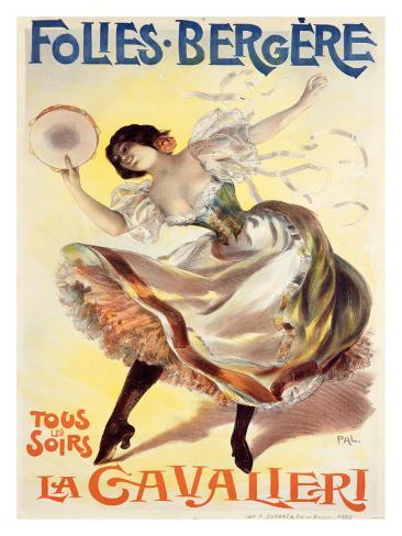 Folies-Bergere, La Cavalieri Giclee Print