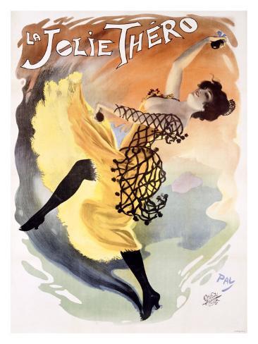 La Jolie Thero Giclee Print