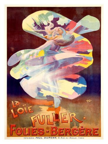 La Loie Fuller, Folies-Bergere Giclee Print