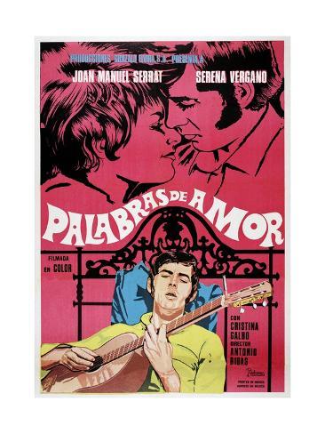 Palabras De Amor, 1968 Giclee Print
