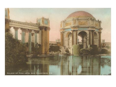 Palace of Fine Arts, San Francisco, California Art Print