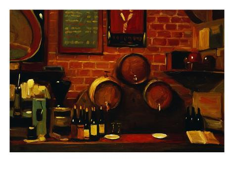 Bar in Madrid Giclee Print