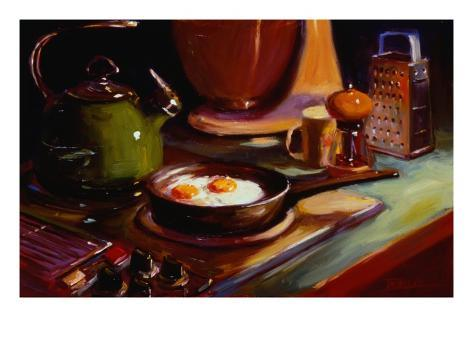 Eggs at Jan's Giclee Print