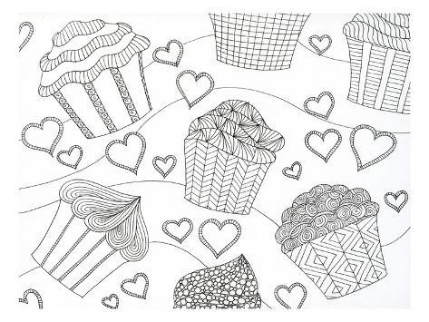 Cupcake Love Taidevedos