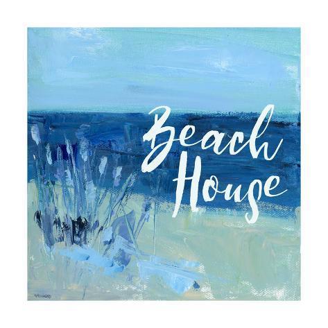Beach house prints by pamela j wingard for Beach house prints