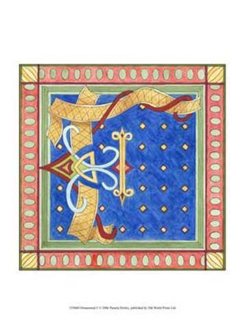 Ornamental F Art Print