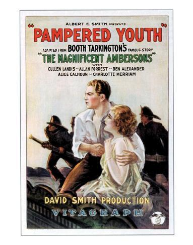 Pampered Youth - 1925 Giclee Print