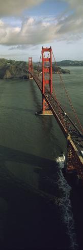 Aerial View of Golden Gate Bridge, San Francisco, California, USA Photographic Print