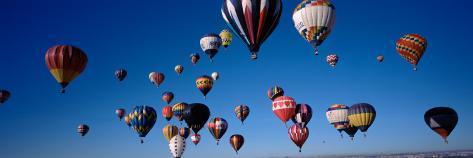 Albuquerque International Balloon Fiesta, Albuquerque, New Mexico, USA Wall Decal