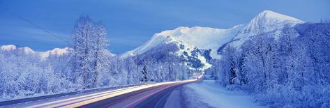 Alyeska Highway, Alaska, USA Photographic Print