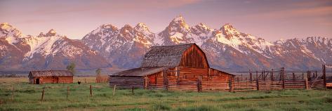 Barn Grand Teton National Park WY USA Photographic Print