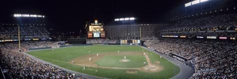 Baseball Game Camden Yards Baltimore, MD Photographic Print