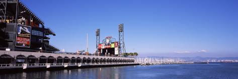 Baseball Park at the Waterfront, At&T Park, San Francisco, California, USA Wall Decal