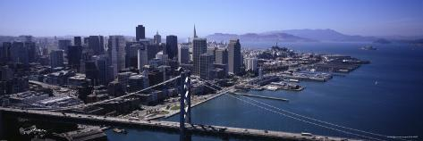 Bay Bridge, San Francisco, California, USA Photographic Print