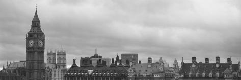 Big Ben, Houses of Parliament, Westminster, London, England Photographic Print