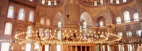 Blue Mosque, Istanbul, Turkey Photographic Print