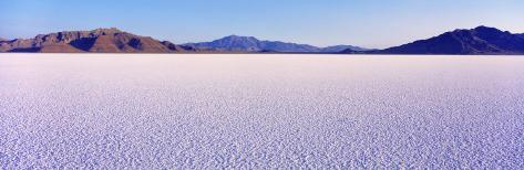 Bonneville Salt Flats, Utah, USA Photographic Print