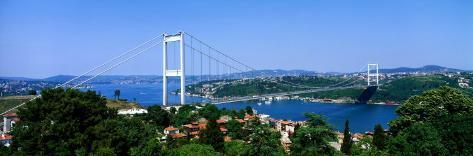 Bosphorus Bridge, Istanbul, Turkey Photographic Print