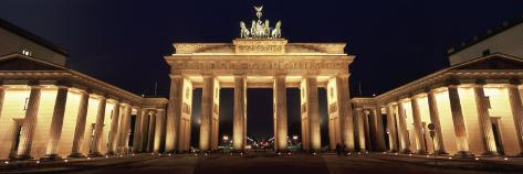 Brandenburg Gate, Berlin, Germany Photographic Print