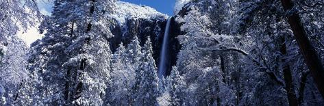Bridal Veil Falls in Winter, California, USA Photographic Print