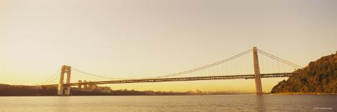 Bridge Across the River, George Washington Bridge, New York, USA Photographic Print