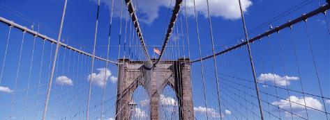 Brooklyn Bridge, New York City, New York State, USA Photographic Print