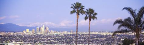 Cityscape, Los Angeles, California, USA Photographic Print