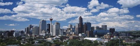 Clouds over a City, Calgary, Alberta, Canada Photographic Print