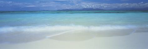 Clouds over an Ocean, Great Barrier Reef, Queensland, Australia Photographic Print