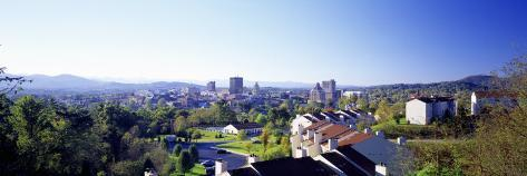 Daytime City Skyline Asheville Nc, USA Photographic Print