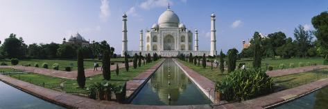 Facade of a Mausoleum, Taj Mahal, Agra, Uttar Pradesh, India Photographic Print