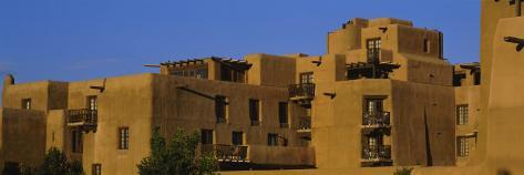 Hotel in a City, Santa Fe, New Mexico, USA Photographic Print