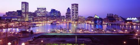 Inner Harbor, Baltimore, Maryland, USA Photographic Print