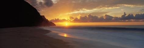 Kalalau Beach, Hawaii, USA Photographic Print