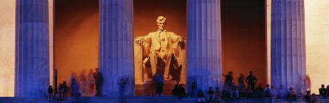 Lincoln Memorial, Washington DC, District of Columbia, USA Photographic Print