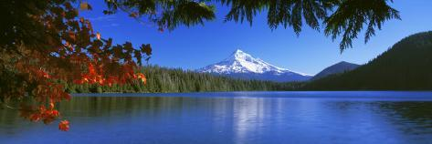 Lost Lake, Mt. Hood National Forest, Oregon, USA Photographic Print