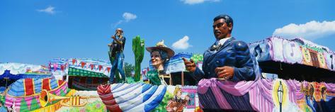 Mardi Gras Floats Photographic Print