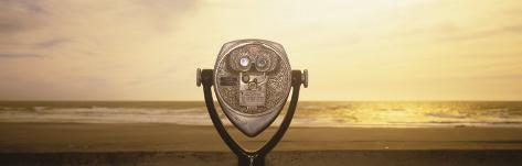 Mechanical Viewer, Pacific Ocean, California, USA Photographic Print