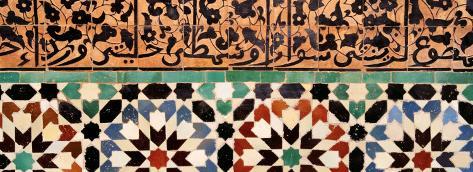 Medresa Ben Youssef, Marrakech, Morocco Photographic Print