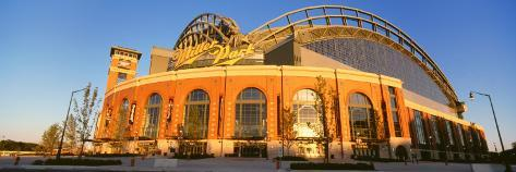 Miller Park Milwaukee, WI Photographic Print