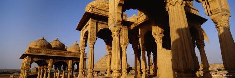 Monuments at a Place of Burial, Jaisalmer, Rajasthan, India Photographic Print