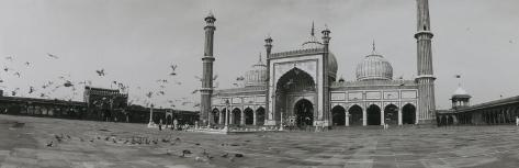 Mosque, Delhi, India Photographic Print