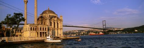 Mosque, Ortakoy, Istanbul, Turkey Photographic Print